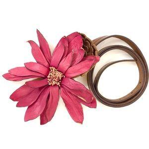 Women's Loft Genuine Leather Belt